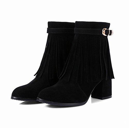Misssasa Femme Elegance Chaussures À Talon Noir