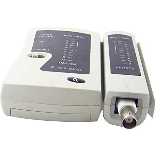 Dergtgh Netzwerk-Kabeltester Draht RJ45 BNC-Kabel-Prüfvorrichtung-Detektor Fern Test-Tools Netzwerk-Tool Detektor-test
