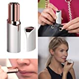 YO+ Women's Painless Flawless Facial HAIR REMOVER/Removal Tool/Epilator/Shaver - Premium Look just like lipstick, Removes Facial hair Easily without Pain or irritation (BLACK)