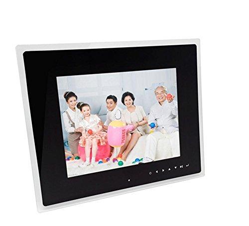 FGDJTYYJ 12-Zoll-Bildschirm ist das Touch-Tasten HD Acrylrahmen digitaler Fotorahmen elektronischer Werbung Album -
