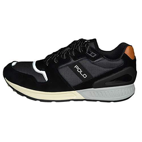 Ralph Lauren Herren Schwarz Train 100 Sneakers-UK 9