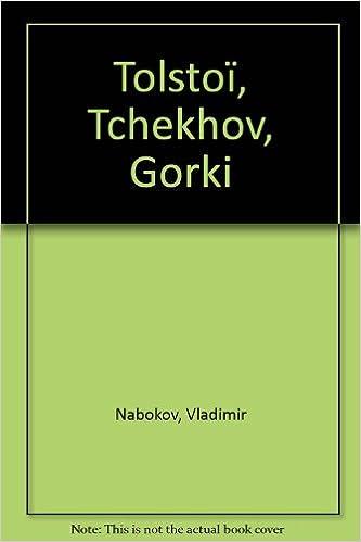 Livres gratuits Tolstoï, Tchekhov, Gorki pdf, epub