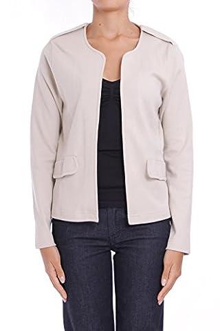 ANTA Q'ULQI - Women's Jersey Jacket / Blazer 100% Organic Pima Cotton - beige, M