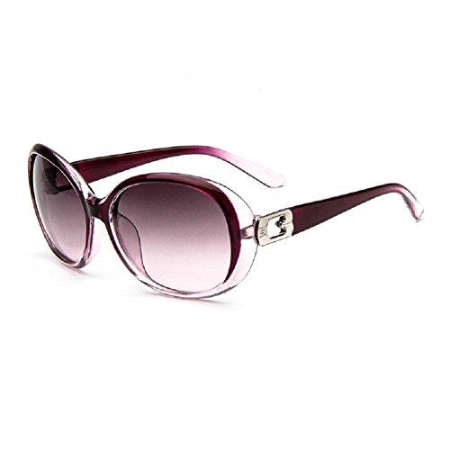 O-C Damen Sonnenbrille Violett Violett