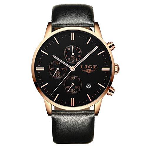 info for 445b5 d2282 Men Watche Fashion Simple Waterproof 30M Quartz Sports Watch,Black Dial  Stainless Steel Wrist Watch
