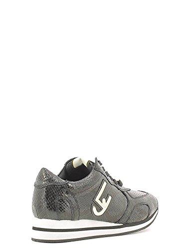 Scarpe Sneakers Donna LIU JO Pitone Nero Running Glicine Pelle Nuove Nero