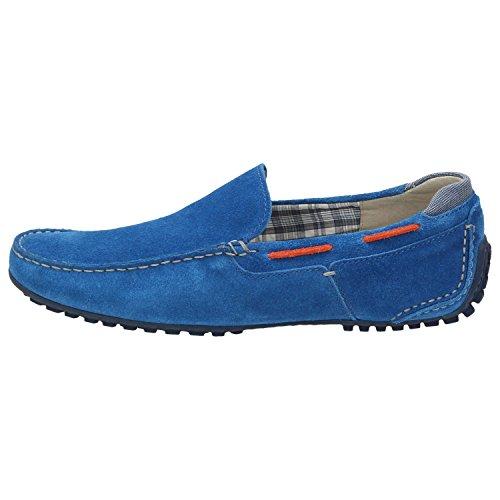 Sioux Herren Slipper Cagil Blau