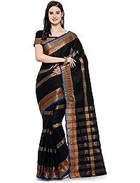 Saree Mall Women's Silk Cotton Saree With Blouse Piece (sarees New Collection 2017_4AURA4023)