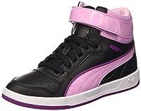 Puma Jr Liza Mid Dazz Baskets Mode Noir/Pastel Lavender 5,5