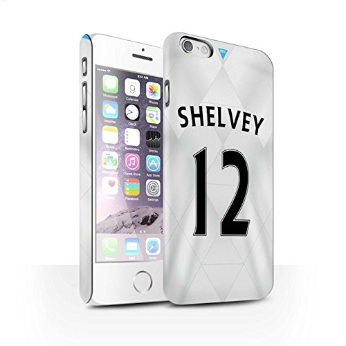 Offiziell Newcastle United FC Hülle / Matte Snap-On Case für Apple iPhone 6 / Pack 29pcs Muster / NUFC Trikot Away 15/16 Kollektion Shelvey