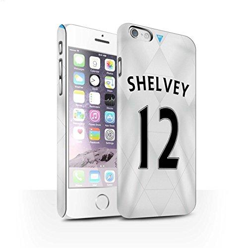 Offiziell Newcastle United FC Hülle / Matte Snap-On Case für Apple iPhone 6S / Pack 29pcs Muster / NUFC Trikot Away 15/16 Kollektion Shelvey