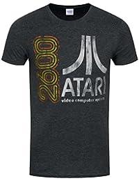 T-Shirt Atari 2600 Homme Gris Foncé