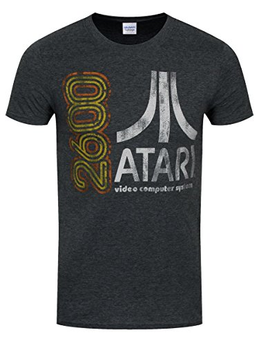 t-shirt-atari-2600-homme-gris-fonce