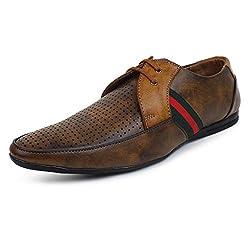 Adreno Mens Tan Pedro Formal Shoes [ADRPEDRO] - 7 UK/IND