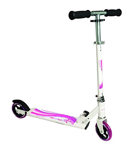authentic sports & toys GmbH Aluminium Scooter Muuwmi 125 mm, weiß/pink