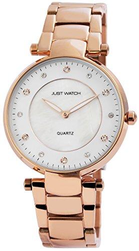 Just Watch Orologio da polso da donna al quarzo analogico cinturino in acciaio inox jw10058–001
