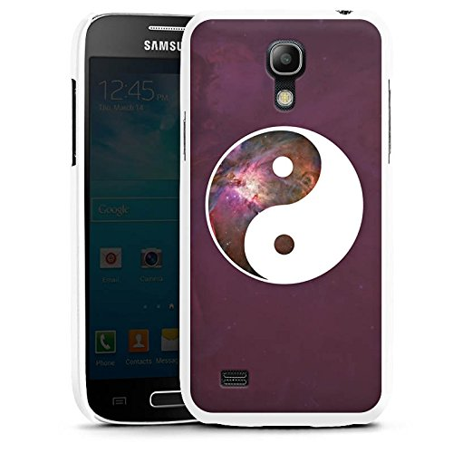DeinDesign Samsung Galaxy S4 mini Hülle Case Handyhülle Ying Yang Galaxy Galaxie