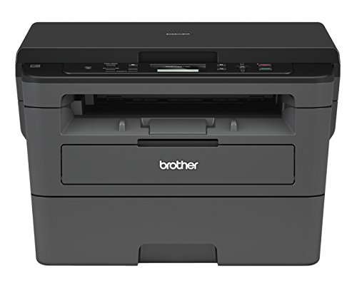 Brother DCP-L2510D Kompaktes 3-in-1 S/W-Multifunktionsgerät (Drucken, Scannen, Kopieren, A4, Echte 1.200x1.200 DPI, Duplexdruck, 250 Blatt Papierkassette, USB 2.0) (One In All Laser-brother)