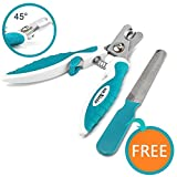 Professional Pet Dog Nail Clippers For Small Medium Large Dog Breeds - With