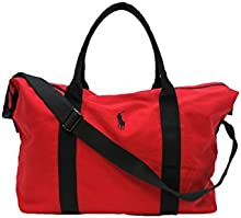 RALPH LAUREN POLO RED MENS HOLDALL / TRAVEL / GYM / WEEKEND / DUFFLE BAG