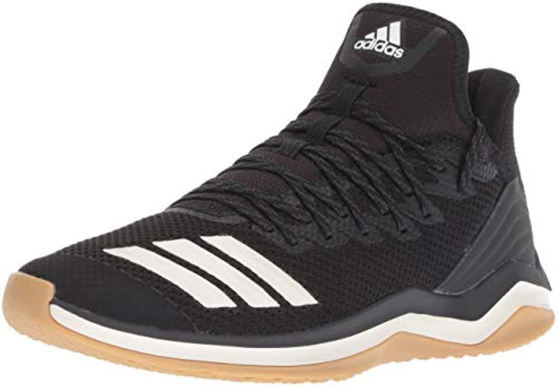 Adidas Men's Icon 4 Baseball scarpe, nero Cloud bianca bianca bianca Carbon 585, 9 M US | Chiama prima  ad3707
