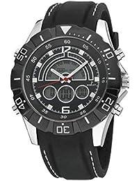 Reloj NOWLEY analogico-Digital Correa de Caucho Negro 8-5313-0-1