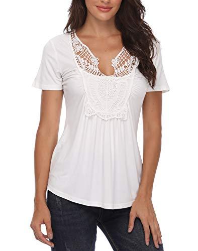aaf7860a9503 Blusas de mujer blancas comparación | El lugar mejor para compras de ...