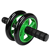 Simxen Abdominal Wheel Ab Roller with Knee Mat for Exercise Fitness Gym Equipment Accessory Fitness Equipment Gym for Man and Women