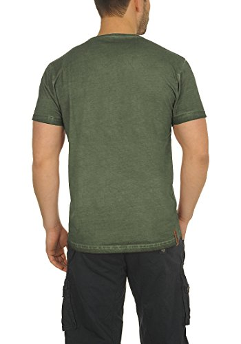 Solid Tinny Herren T-Shirt Kurzarm Shirt V-Ausschnitt Brusttasche Aus 100% !
