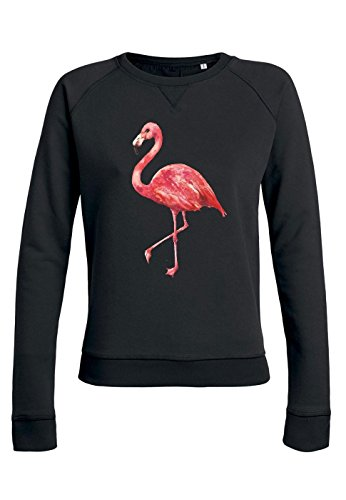 ul7 Sweat pour femmes Trips Pink Flamingo Black
