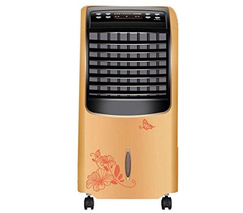 Preisvergleich Produktbild KONGTIAO JJHJS Vertikale Heizung,  Heizung und Kühlung Klimaanlage Ventilator,  Heizung Ventilator Hause Kühlschrank,  Mobile Kleine Klimaanlage,  Leise Fernbedienung, Gold, Einheitsgröße