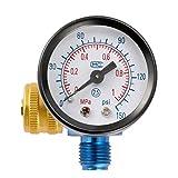 XQxiqi689sy Durevole aerografo regolatore di pressione dell'aria manometro compressore valvola di regolazione pneumatico strumento