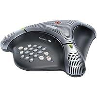 Polycom Voice Station 300 - Teléfono manos libres para audio conferencia, color negro (importado)