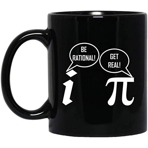 Pi Math-kinder Hoodie (Funny PI -Be Rational Get Real-Geek Nerd Math 11 oz. Black Mug)