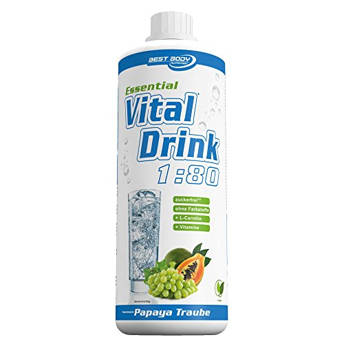 best-body-nutrition-essential-vitaldrink-papaya-traube-180-1er-pack-1-x-1l