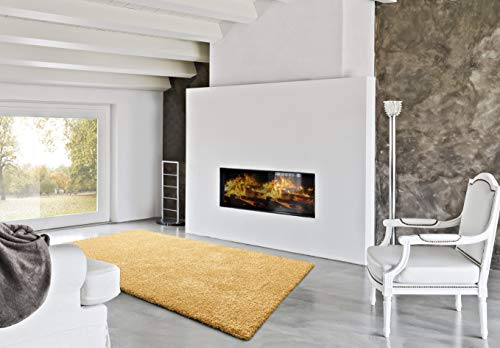 UNIVERSAL Alfombra PIE DE Cama Amarillo 57x110 cm