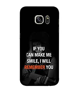 PrintVisa Designer Back Case Cover for Samsung Galaxy S7 Edge :: Samsung Galaxy S7 Edge Duos :: Samsung Galaxy S7 Edge G935F G935 G935Fd (Attractive Beautiful Girl Playing Gitar)