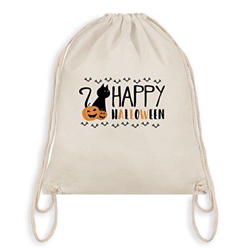 Halloween - Happy Halloween - Borsa Da Palestra I Gym Bag Bianco Naturale