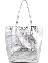 72490402b7 Ladies Handbags Soft Italian Real Leather Shopper Tote Bags Women Girls Shoulder  Handbags for Women