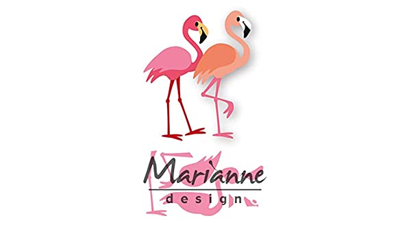 Marianne Design Collectables Cutting Dies Eline/'s Flamingo COL1456