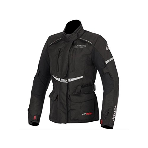 Chaqueta moto alpinestar negra