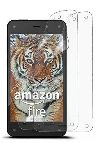 2X Amazon Fire Phone | Schutzfolie Matt Bildschirm Schutz [Anti-Reflex] Screen Protector Fingerprint Handy-Folie Matte Bildschirmschutz-Folie für Amazon Fire Phone Bildschirmfolie