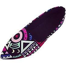 Bailarinas mujer , ❤️Amlaiworld Zapatos planas de mujer Calzado Zapatos al aire libre zapatillas de playa Mujer Zapatos de Primavera verano de ballet multicolores casuales Mocasines con cordones (Multicolor, 39)