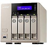 QNAP TVS-463-4G 4 Bay Desktop NAS Gehäuse mit 4GB RAM