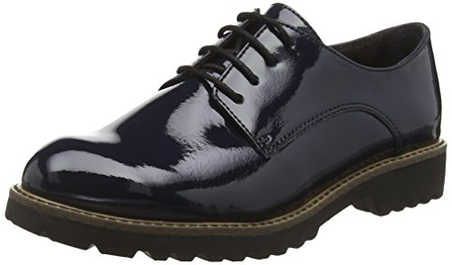 Tamaris 23214 - Scarpe Oxford Donna, Blu (NAVY 805), 37 EU