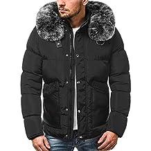 7c10bdb2e05c OZONEE Herren Winterjacke Parka Jacke Wärmejacke Wintermantel Coat  Wärmemantel Warm Modern Täglichen ...