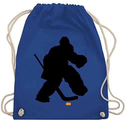 Eishockey - Eishockeytorwart Towart Eishockey - Unisize - Royalblau - WM110 - Turnbeutel & Gym Bag -