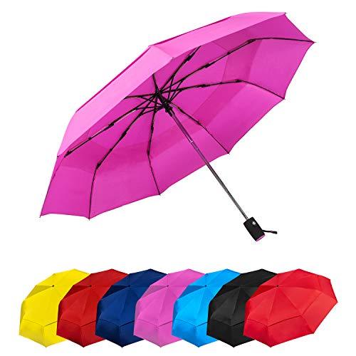 Paraguas Plegables Automático Antiviento