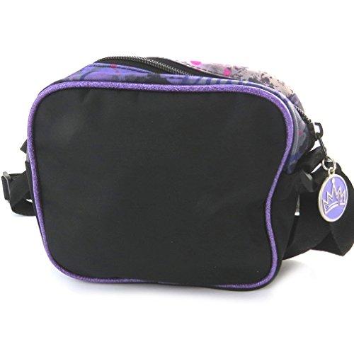 Creador bolsa 'Descendants'negro púrpura.