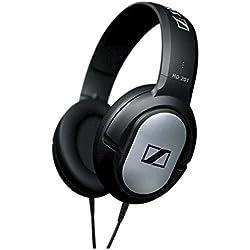 Sennheiser HD201 Casque Supra-aural, Stereo, Câble 3 m - Noir et argent
